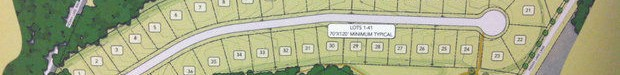 Pelham proposed development of 41 garden homes on Indian Lake Drive.